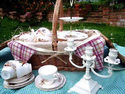 vintage china for hire